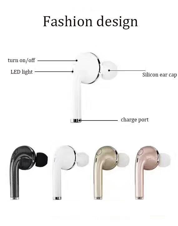 GiGiboom Manos Libres Auricular Bluetooth Mini Auricular Bluetooth Inalámbrico a