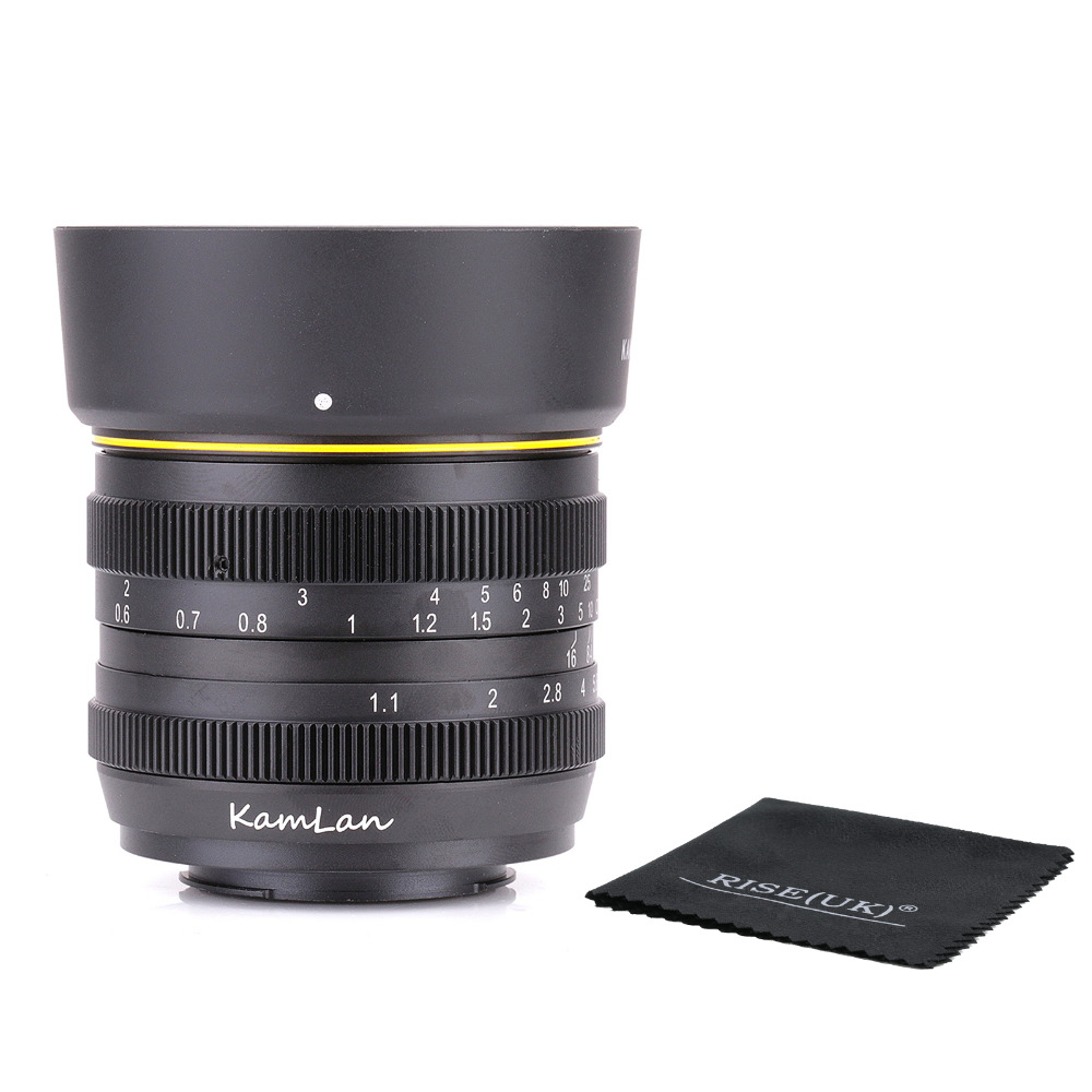 Kamlan 50mm F1.1 APS-C Large Aperture Manual Focus Lens for nikon N1 amount  free shipping джинсы noisy may noisy may no963ewvpg31