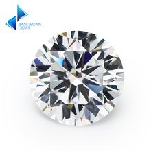 ФОТО wholesale size price 3.0~10mm f color round cut lab grown loose moissanite diamond test positive
