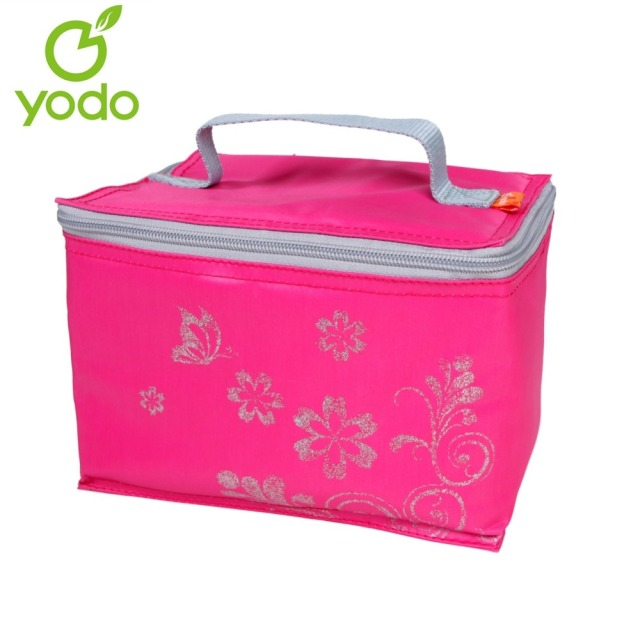 Yodo 6 Can Small Insulated Lunch Bag Portable Thermal Food Picnic For Women Cooler