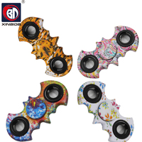 BD, Fingertip Gyro Decompression,Fidget spinner,Hand Spinner Plastic,Color Batman EDC Tool,Anxiety Stress Relief toy