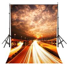 150x210cm Overcast Highway Backdrop Dark Clouds Personality Party Photography Background