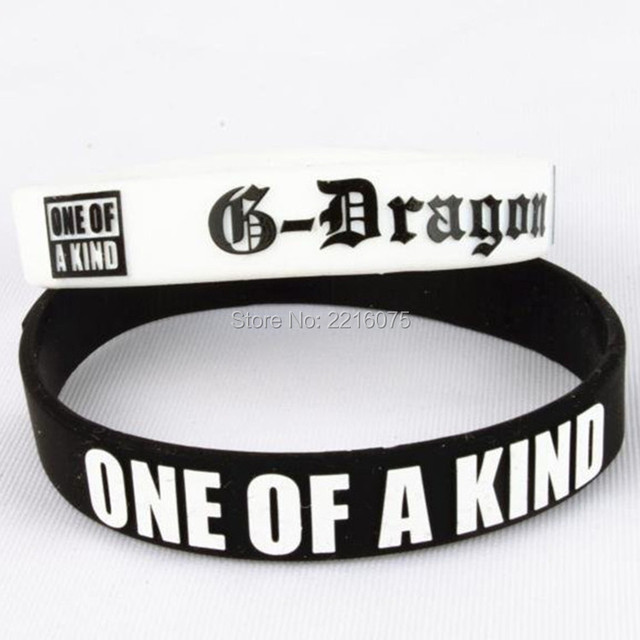 300pcs Embossed Print K Pop Bang Gd G Gradon One Of A Kind Wristband