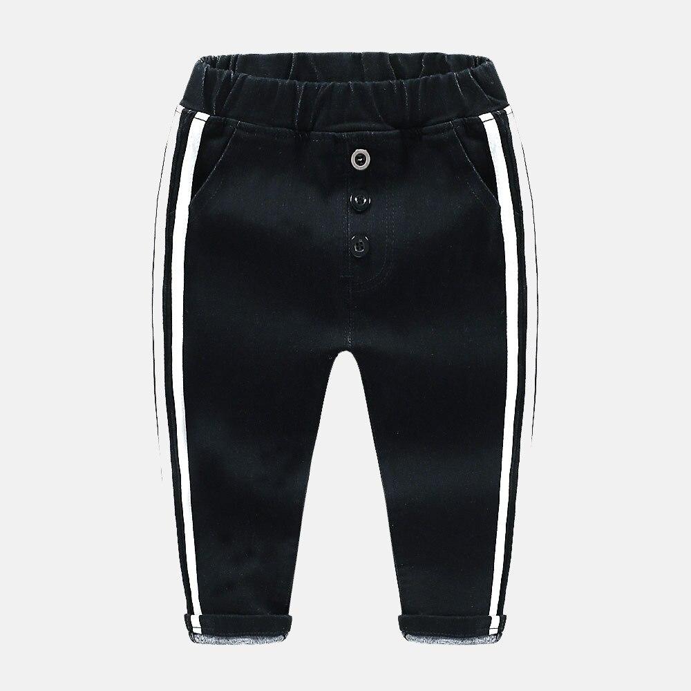 2019 Frühling Und Herbst Neue Jeans Seite Weiß Streifen Schwarz Koreanische Dünne Hosen Hosen Trendy Böden Chinesische Aromen Besitzen