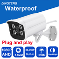 CMOS with IR-Cut filter 4pcs Array leds AHD Camera 2MP 1080P Indoor / Outdoor Waterproof CCTV Security Camera, free shipping