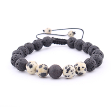 Fashion New Hot Sale Hand-woven Lava Beaded Bracelet Exquisite Accessories Charm Men and Women
