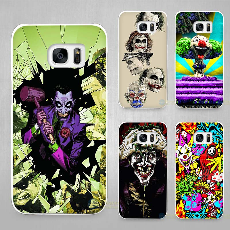 Joker Batman The Killing Joke Hard White Coque Shell Case Cover Phone Cases for Samsung Galaxy S4 S5 S6 S7 Edge Plus