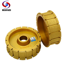 (MX08) 140*45*30 Brazing Diamonds Marble Sanding Disc use for machine Double bevel edging discs grinding disc