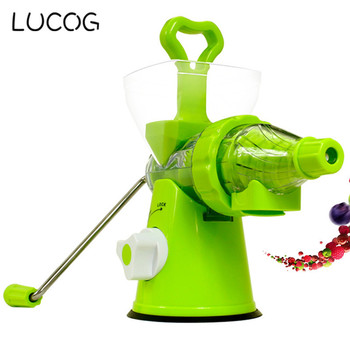 LUCOG Multifuctional Kitchen Manual Hand Crank Single  1
