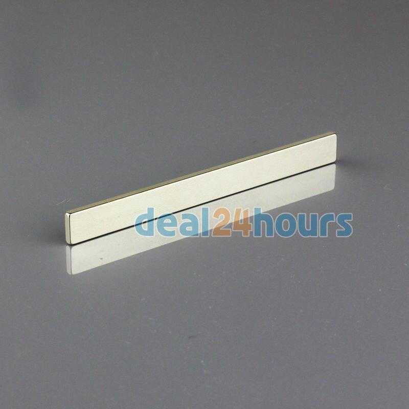 OMO Magnetics 1PC Bulk Super Strong Strip Block Bar Magnets Rare Earth Neodymium 100 x 10 x 3 mm N35