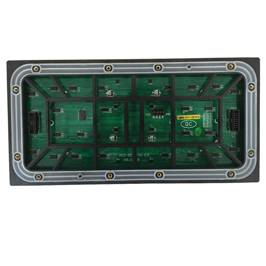 P10 Outdoor SMD 1/4 Scan 32*16pixels Full Color Waterproof Led Display Module Panel P2.5 P3 P4 P5 P6 P8 Led Video Wall For Stage