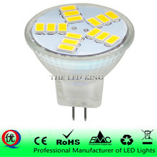 Super Bright MR11 LED SMD 5730 AC DC 12V 5W 7W Replace 30w 40w halogen lamp light 60 Beam Angle Christmas LED Bulb lamp
