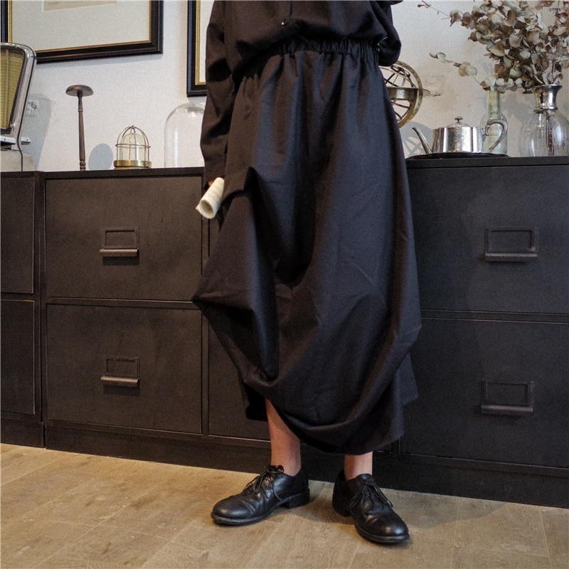2018 Neue Männer Kleidung Haar Stylist Hip Hop Straße Falten Unregelmäßigen Rock Hosen Plus Größe Sänger Kostüme Direktverkaufspreis