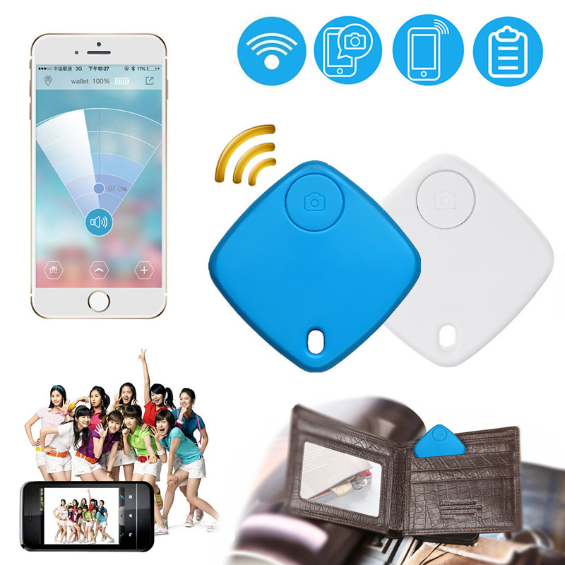 Smart Finder Wireless Bluetooth Tracker Key Finder Self-timer Mini Anti-lost Alarm GPS Locator for Child Pet Dog Bag Wallet