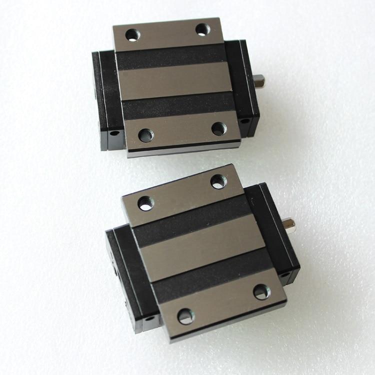 2pcs Original Taiwan PMI MSB30E-N MSB30ESSFC N linear guideway slide block Carriage for CO2 laser machine CNC router MSB30E 2pcs Original Taiwan PMI MSB30E-N MSB30ESSFC N linear guideway slide block Carriage for CO2 laser machine CNC router MSB30E