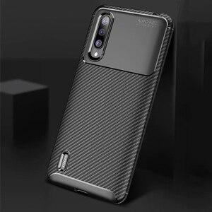 Image 5 - Xiao mi mi A3 bir 3 kılıf lüks karbon fiber kapak darbeye dayanıklı telefon kılıfı için mi 9 Lite CC 9 CC 9e kapak Ultra Fit tampon kabuk