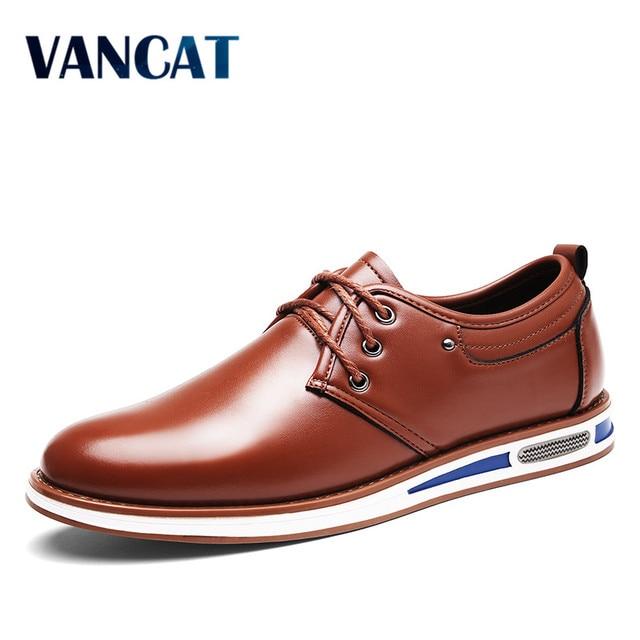 VANCAT Italiano Zapatos Casuales Para Hombre de Lujo Diseñador de la Marca  de Los Hombres Zapatos ad99c48ef10