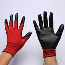 Gants de sécurité en nitrile mat, protection des mains, entièrement trempés, étanches, résistants à l'huile, confortables, antibiques