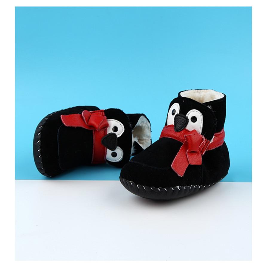 Baby First Shoes Winter Newborns Boys Girls Warm Bebek Ayakkabi Blue Sneakers Red Newborn First Babe Snow Shoes 60A1006