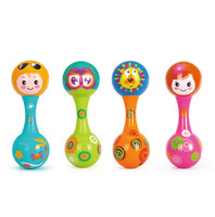 1pcs New Baby Handbell Shaker Kids Maracas Rattle Shakers Children Educational Toys Musical Instrument Party Toy