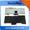 For Dell Latitude E6400 E6500 Sweden Keyboard black backlit UK