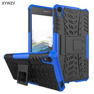Image 5 - sFor Coque Sony Xperia E5 Case Shockproof Hard Silicone Phone Case For Sony Xperia E5 Cover For Sony E5 F3311 F3313 Shell XYWZV