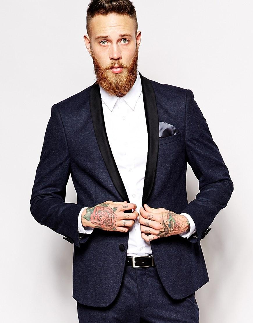 Aliexpress.com : Buy Black Suit Mens Wedding Suits Bridegroom ...