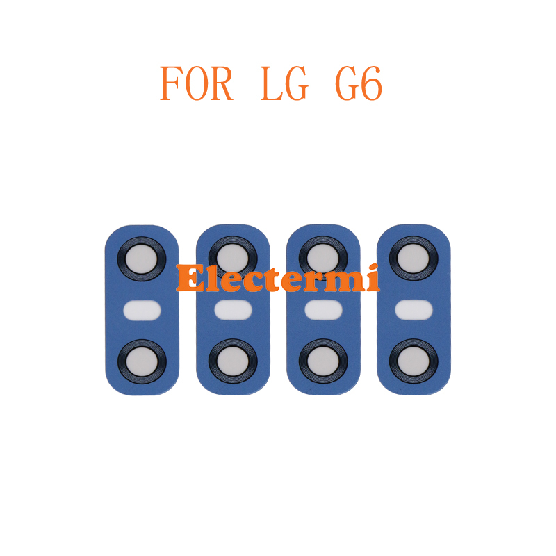 Wholesale 50PCS G6 Back Camera Lens Glass For LG Rear With Sticker Ahesive Replacement