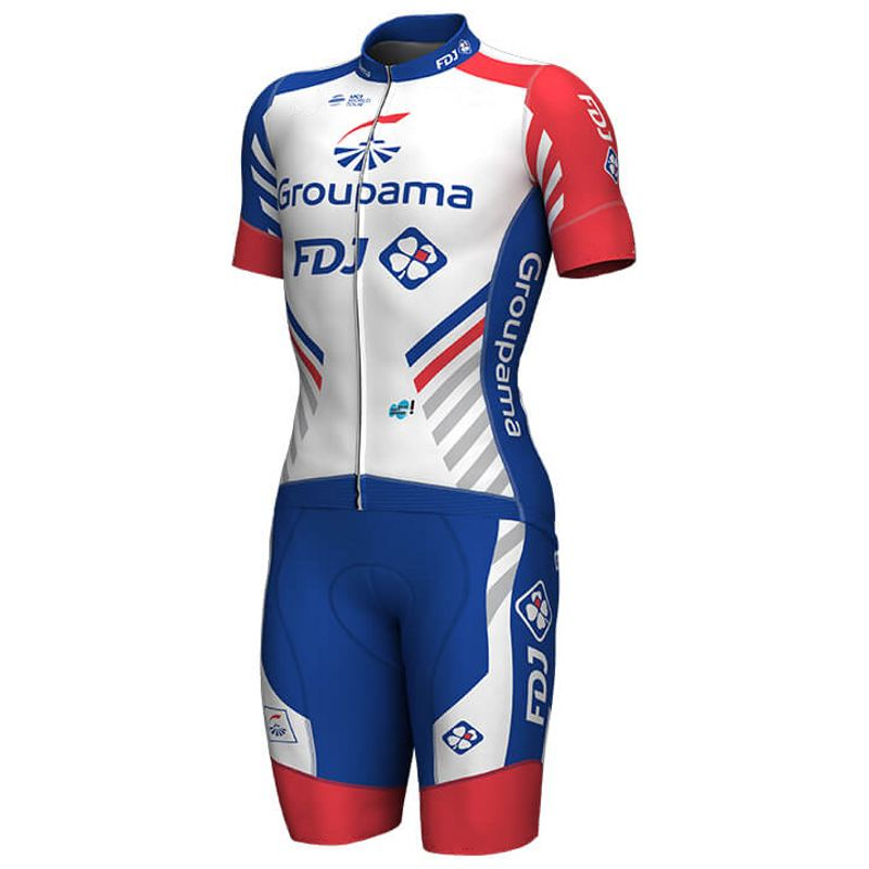 2019 pro team FDJ one piece cycling jersey skinsuits bike bodysuits MTB Ropa Ciclismo Bicycle speedsuit