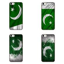 Pakistan Flag Soft Phone Cover Case Coque For Samsung Galaxy Note 5 8 9 S3 S4 S5 S6 S7 S8 S9 S10 mini Edge Plus Lite