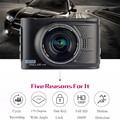 "3.0"" 1080P Full HD Car DVR Camera Dash Cam Mini Driving Car Recorder Dual Lens Support 12 Language Night Vision"