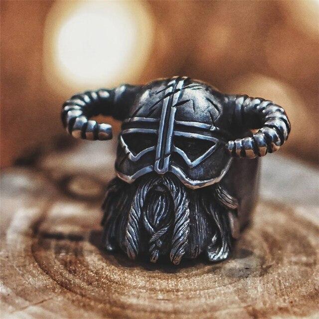bague viking biker