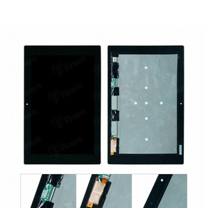 100% testados para sony xperia tablet z2 sgp511 sgp512 sgp521 sgp541 10.1 lcd tela e digitalizador montagem completa
