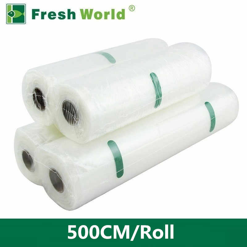 Fresh World Vacuum Bags For Food Vacuum Sealer Bags Fresh Long Keeping 12 15 20 25 28 30 35*500cm Kitchen Vacuum Packaging Rolls