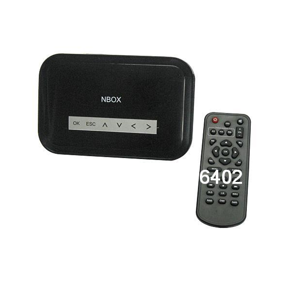 NBOX HDTV 720p Digital Media Player Black