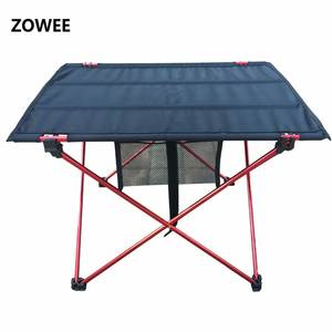 Outdoor Camping Folding Table with Aluminium Alloy Table Waterproof Ultra-light Durable Folding Table Desk For Picnic& Camping