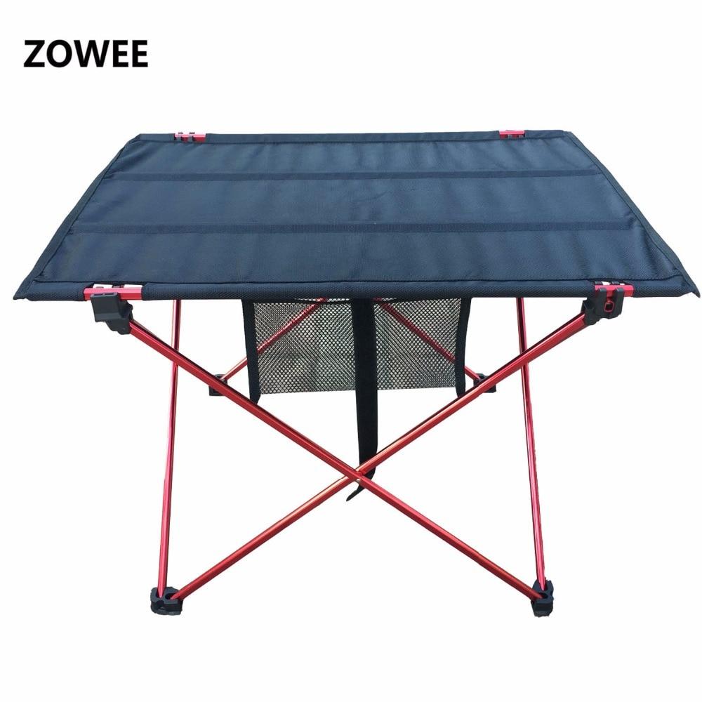 Vanjski stol za kampiranje sa sklopivim stolom od aluminijske legure - Namještaj - Foto 1