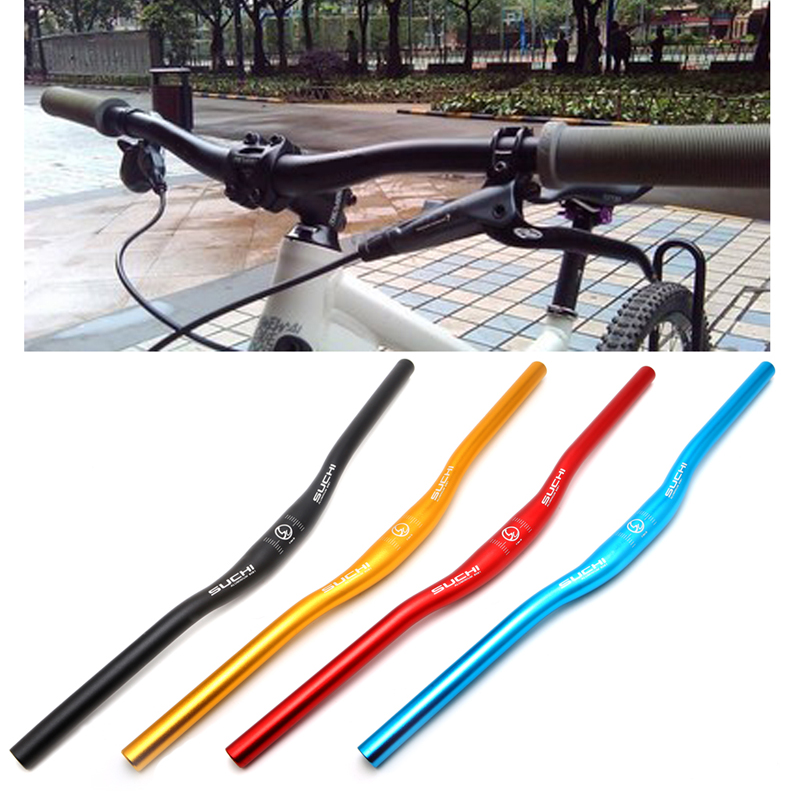 31 8x620mm Aluminum Alloy Handlebar Straight MTB Bicycle Riser Flat Handle Bar Bike Handlebar in Bicycle Handlebar from Sports Entertainment