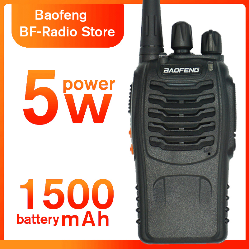 6km BF-888S Walkie Talkie Baofeng 888s 5W 16 Channels 400-470MHz UHF FM Transceiver Two Way Radio Comunicador For Outdoor Racing