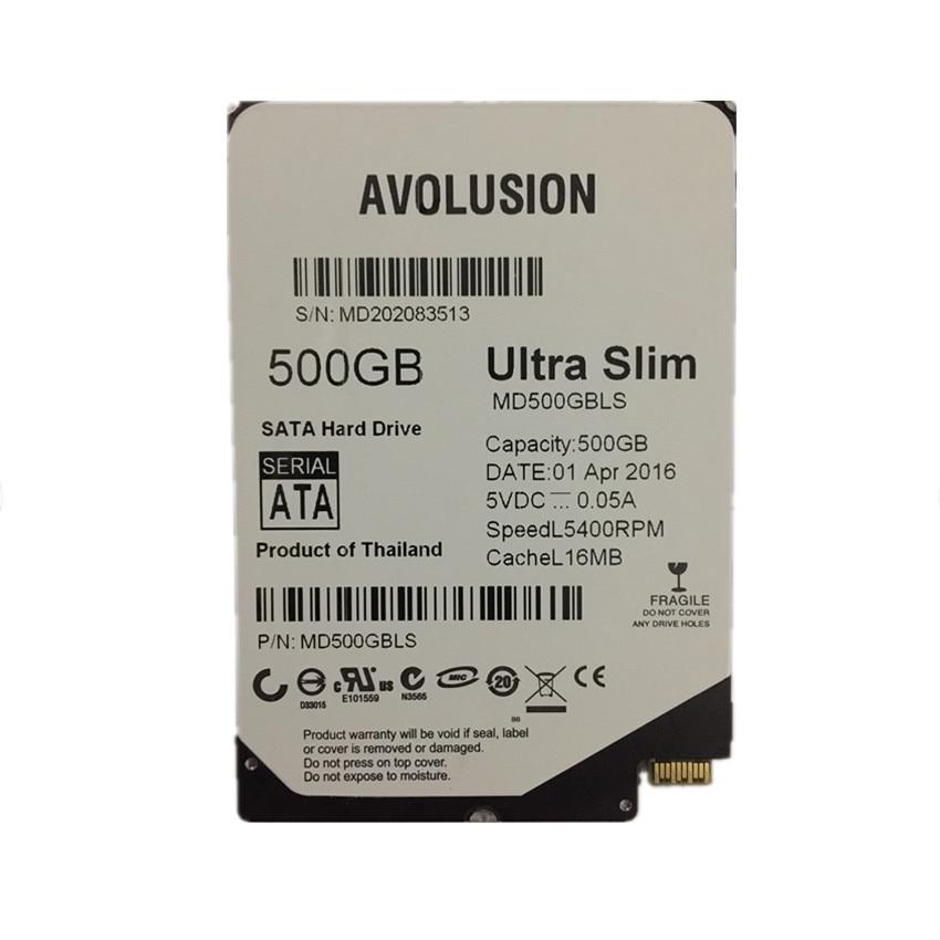 500gb 2,5 collu UltraSlim 5MM 16MB 5400RPM SFF-8784 SATA Express garantija 1 gads
