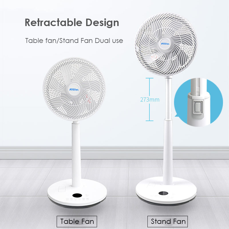 12 Speed Remote Control Summer Cooling Fan 9 Hours Timing Floor Standing Ventilator Touch Panel LED Screen Air Conditone