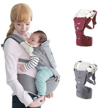 hot deal buy new ergonomic baby carriers backpacks 5-36 months portable baby sling wrap cotton infant newborn baby carrying belt for mom dad