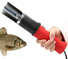 Rechargeable Electric Scraping Fish Scales Machine Kitchen Scaling Fish Tool Cordless Powerful Fishing Scaler