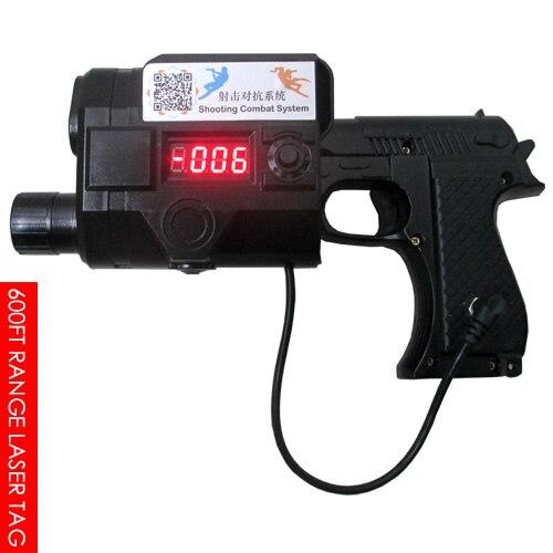 Étiquette Laser 600ft, pistolet jouet extérieur/intérieur, pistolet de Combat professionnel, système de Combat Laser, Configurations de Tagger et de jeu modifiables