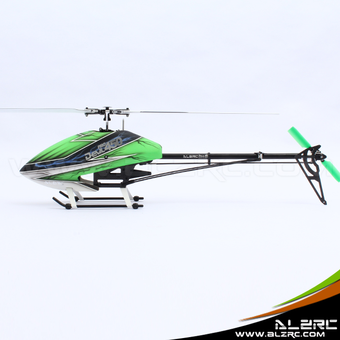 ALZRC - Devil 450 RIGID SDC/DFC KIT - Black dfc rb72t 26