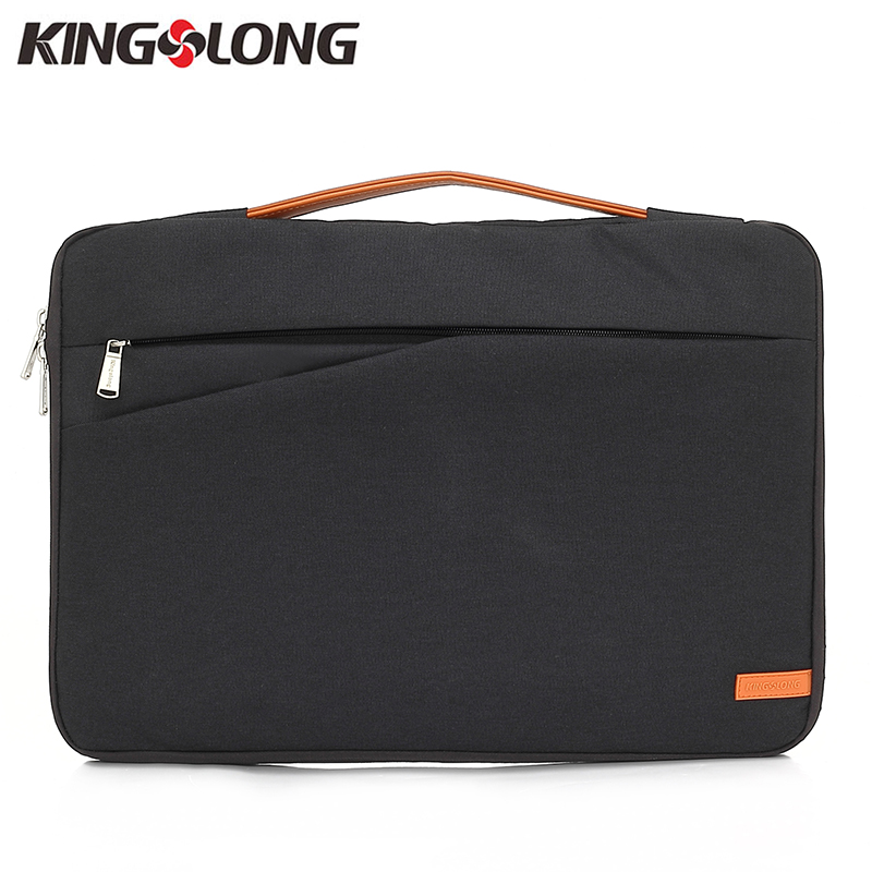 KINGSLONG Soft Computer Laptop Bag Handbags Notebook Bag 13.3inch 15.6inch 17.3 Inch Business Briefcase Laptop Case KLM11BK-4
