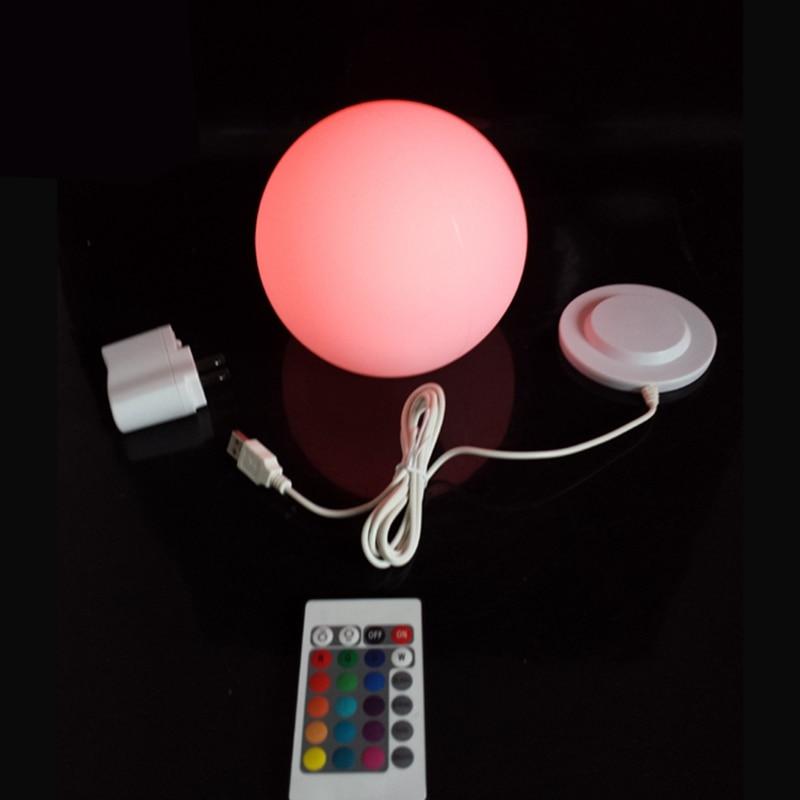 D15cm RGBW LED Gbole gömbbútor Világítás gömbgömbökkel Gyári - Éjjeli fény