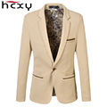 2016 Autumn and winter jackets Fashion Mens slim fit  blazer Men Suit Jacket Burst models low price  Male blazers free delivery