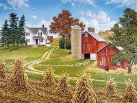 High Quality Decoration Gift DIY 5D Cross Stich European Pastoral Life Pictures Diamond Painting Beautiful Scenery