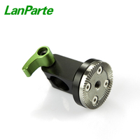 Lanparte 15mm Single Rod Clamp with Rosette Lock with M6 Threaded Hole
